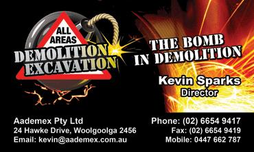 All Areas Demolition Excavation Aadamex Infotek3000